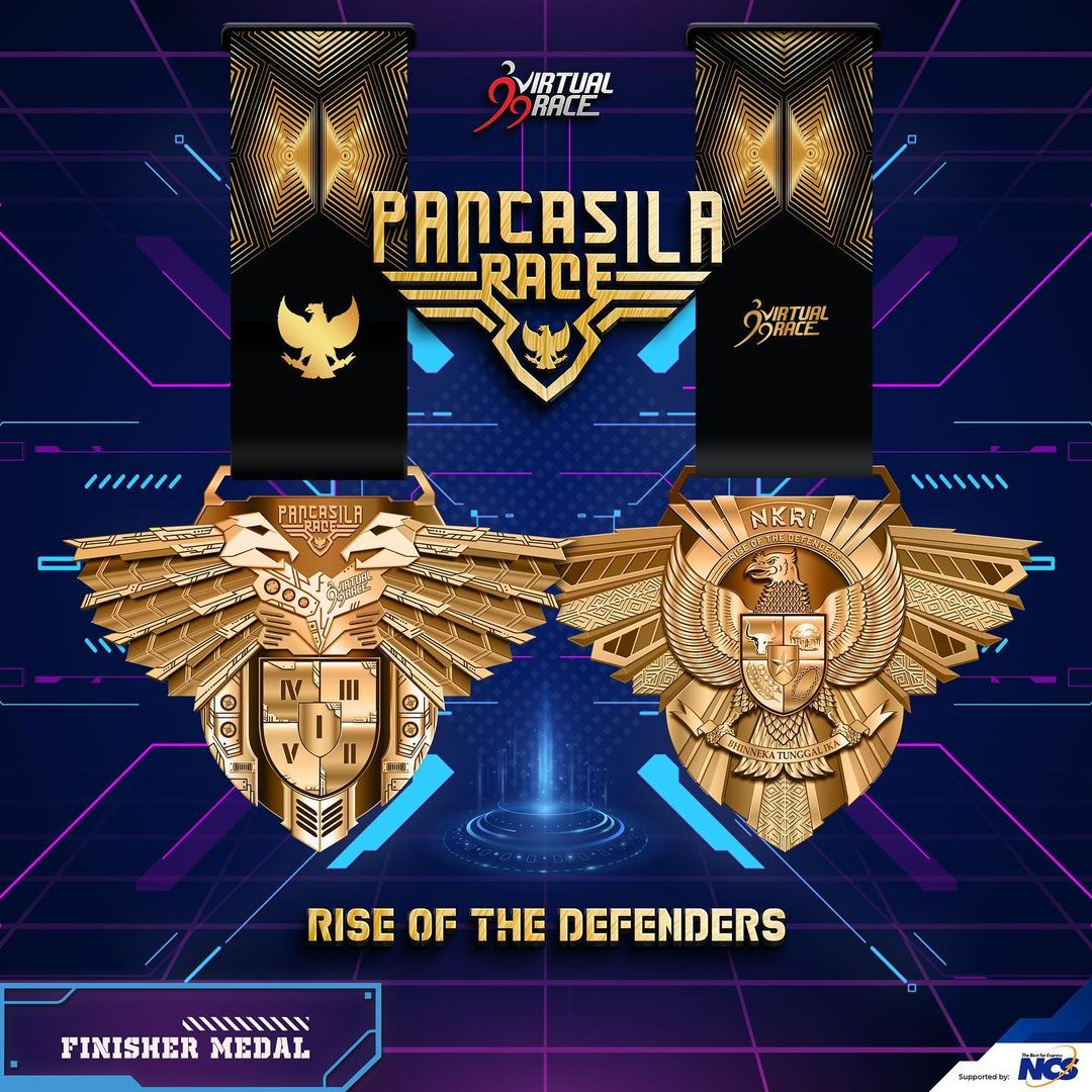 Medal � Pancasila Race - Rise of The Defenders • 2021