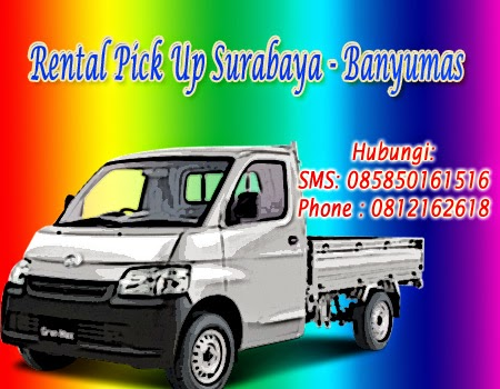 Rental Pick Up Granmax Surabaya-Banyumas