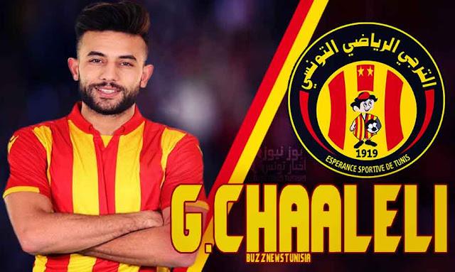 OFFICIEL : Ghaylen Chaaleli signe au Taraji Esperance Sportive De Tunis jusqu'en 2023