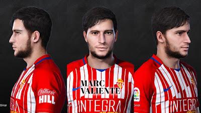 PES 2021 Faces Marc Valiente by Dani