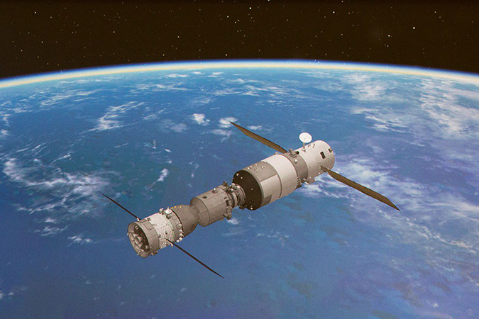 Penelitian China's Tiangong-2 to de-orbit safely after July 2019