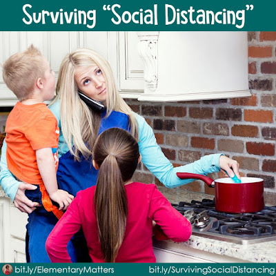 "Surviving ""Social Distancing"" This blog post has suggestions and strategies for parents trying to deal with ""home schooling"" and having to help their children through a difficult time."