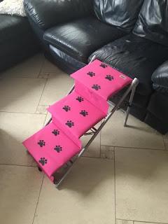 escada rosa