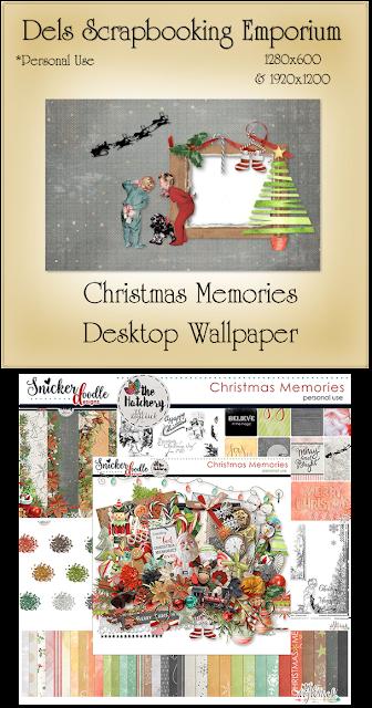 Christmas Memories Desktop Wallpaper