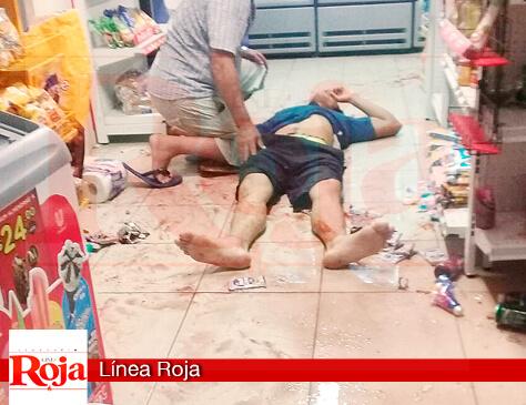 Asesinan a un joven en una tienda de abarrotes