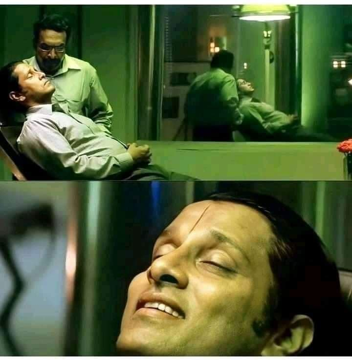 Aparichit Movie Template Blank template | Anniyan Ambi Meme Template