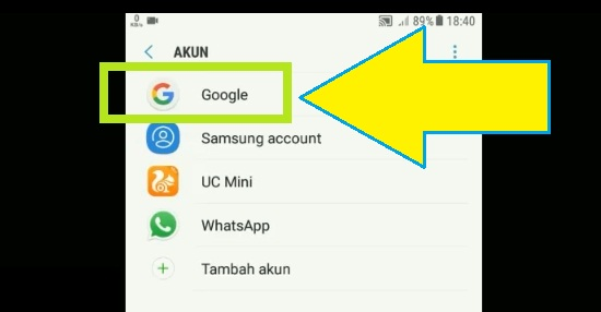Pilih Akun Google Untuk Keluar Gmail