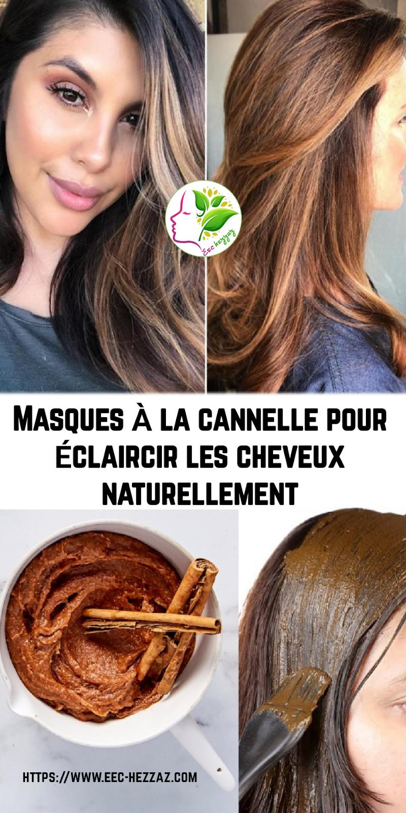 Masques à la cannelle pour éclaircir les cheveux naturellement