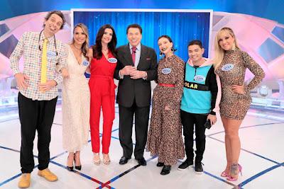Márcio, Lígia, Patricia, Silvio, Priscilla, Yudi e Vivi (Crédito: Lourival Ribeiro/SBT)