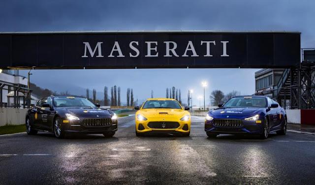 Master Maserati course