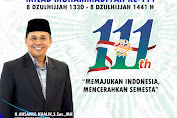 H. Ahsanul Khalik, S.Sos., MH Mengucapkan Selamat Milad Muhammadiyah ke-111