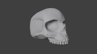 Halo Campaign Skull 3D File