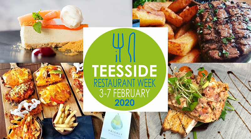 GET 3 COURSES FOR JUST £15 WITH TEESSIDE RESTAURANT WEEK