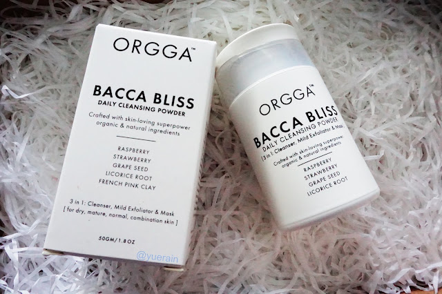 Orgga Bacca Bliss Daily Cleansing Powder