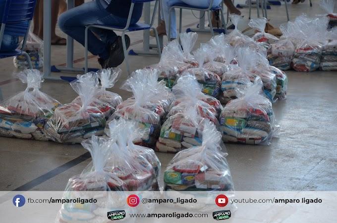 Secretaria de Educação de Amparo realizou mais uma entrega de Kits de Merenda para alunos