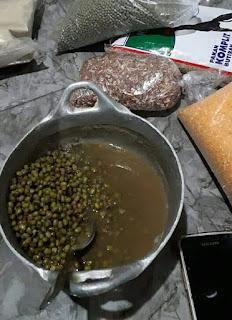 Manfaat pemberian kacang hijau pada ayam bangkok aduan
