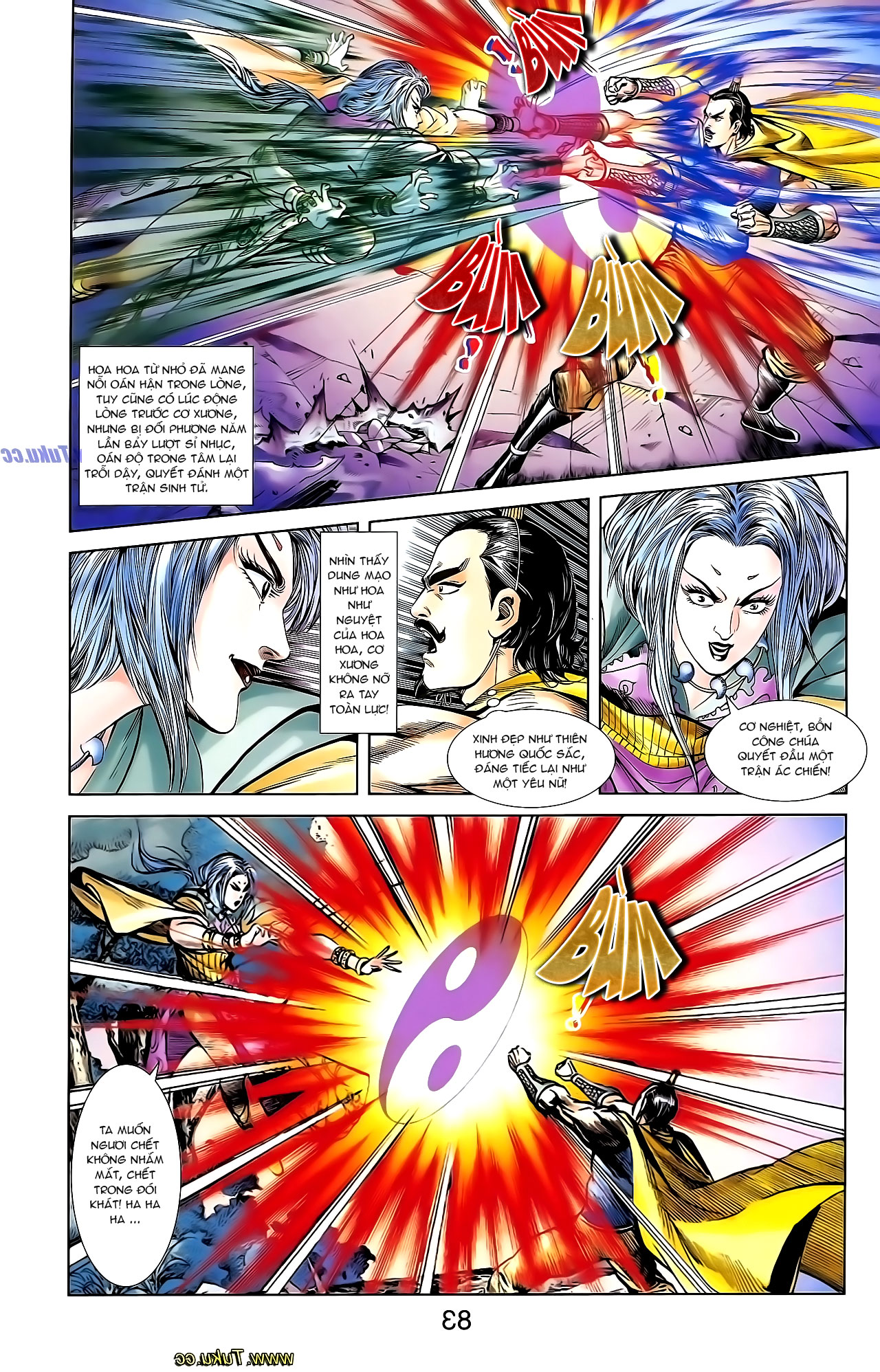 Cơ Phát Khai Chu Bản chapter 138 trang 17