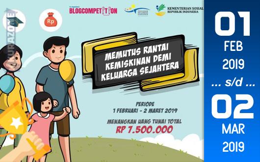 Kompetisi Blog - Program Keluarga Harapan Berhadiah Uang Tunai Jutaan Rupiah (02 Maret 2019)
