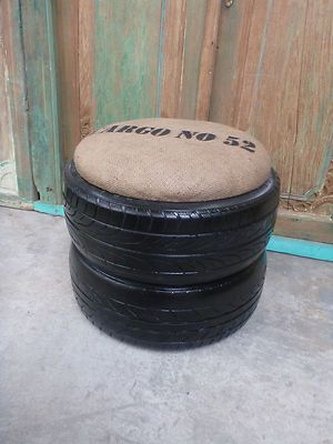 How to Recycle: Interesting Recycled Stool Chair
