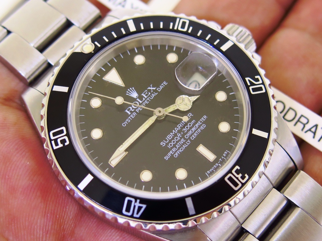 ROLEX SUBMARINER DATE - ROLEX 16800 - YEAR 1986
