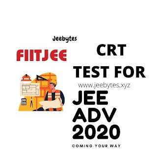 FIITJEE AITS CRT(CONCEPT RECAPITULATION TEST) FOR JEE MAIN 2020-21 [PDF]