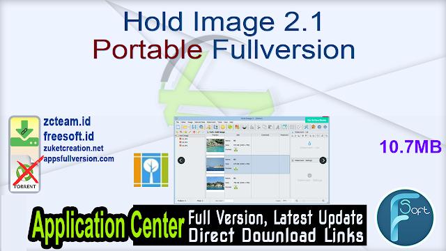Hold Image 2.1 Portable Fullversion