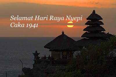 Selamat Hari Raya Nyepi Caka 1941