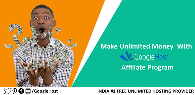 Googiehost Affiliate program kamaai karne ka Best Way