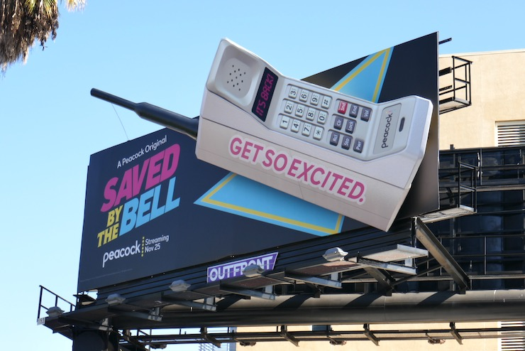 Saved by the Bell reboot billboard