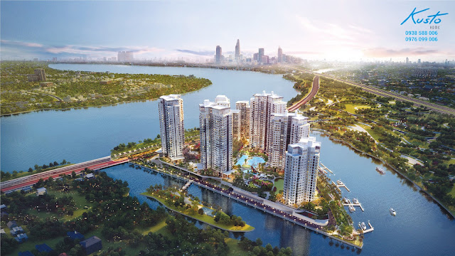 Dự án căn hộ Đảo Kim Cương quận 2.