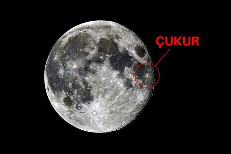 Güney Kutbu Aitken Havzası, Ay'da bulunan 13 kilometrelik devasa bir çukurdur.