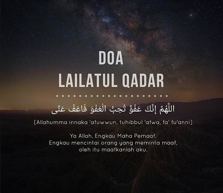 doa 10 malam terakhir