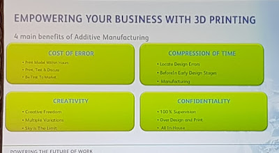 The 4 'C's of 3D printing.