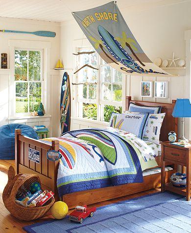 Cottage Blue Designs: Spicing up boy's room: Temporary