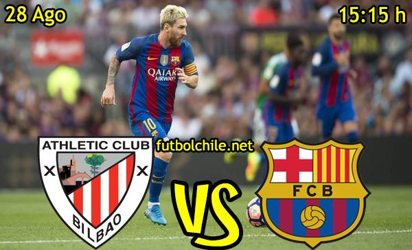 Ver stream hd youtube facebook movil android ios iphone table ipad windows mac linux resultado en vivo, online: Athletic Club vs Barcelona