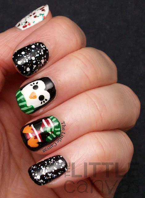Penguin Nail Art! - The Little Canvas