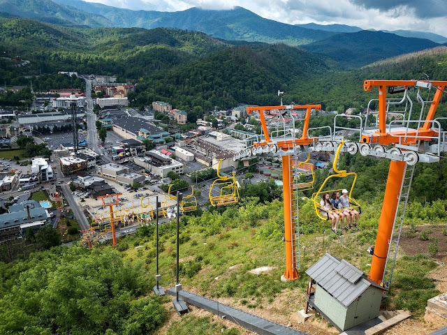 SkyLift Park in Gatlinburg, Tennessee