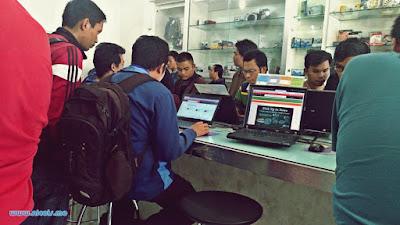 Memesan barang di Jakarta Notebook Semarang dengan layanan self service
