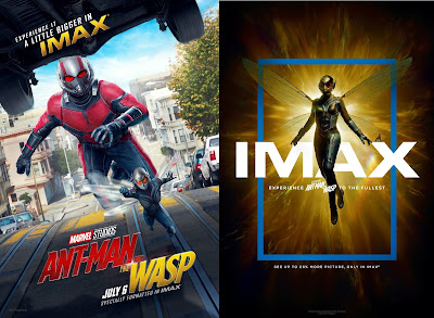 Marvel's Ant-Man and The Wasp IMAX Theatrical One Sheet Teaser Movie Posters