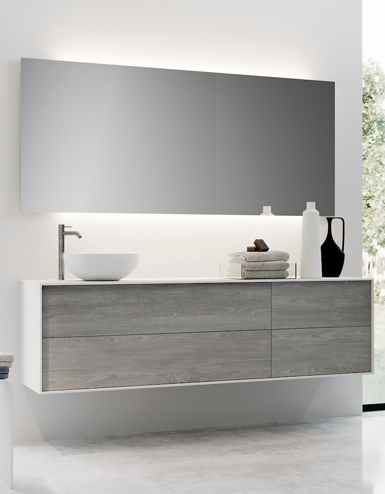 Blog milk minimalist bathrooms by clay for Minimalist small bathroom design