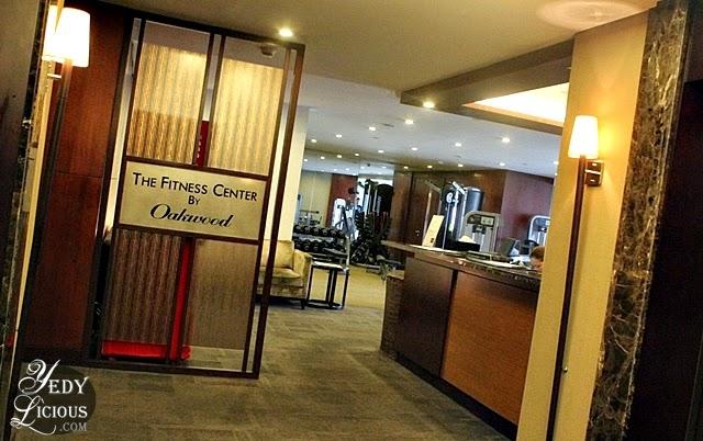 Fitness Center at Oakwood Manila