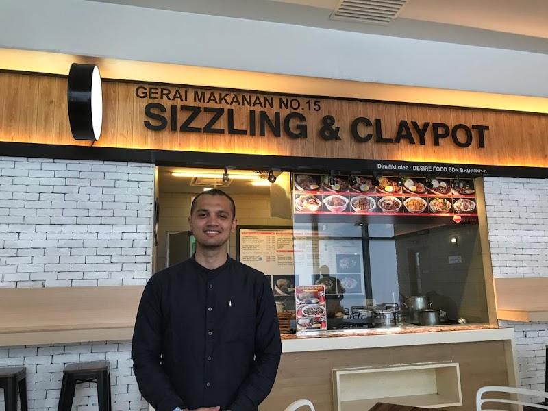 Sizzling & Claypot dan Thai Cuisine PU Riz di NU Sentral