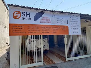 Banner /  tampak depan alamat toko SH GROSIR -  SupplierHanduk.com
