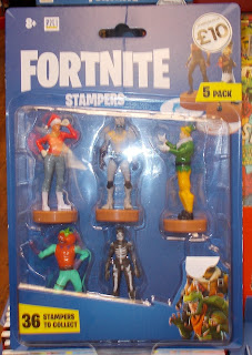 36 Figures to Collect; Epic Games; Five-pack; Forthnite Stampers; Fortnite Figures; Gaming Figurines; Kids Works; New Production News; Novelties; Novelty Figurine; Novelty Stampers; PMI; Sinco Creations; Singleton Trading Ltd.; Small Scale World; smallscaleworld.blogspot.com; Two-pack; Vinyl Stampers;