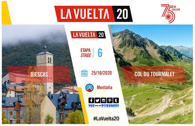 La vuelta 2020 au col du Tourmalet