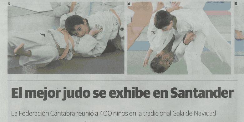 El mejor judo se exhibe en Santander