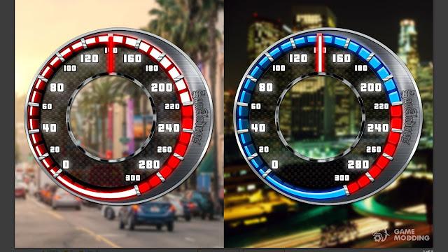 GTA San Andreas New Speedometer Mod
