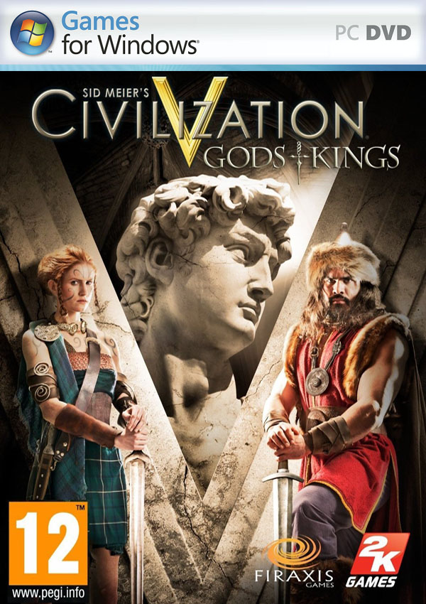 Sid Meier Civilization V Gods and Kings Download Cover Free Game