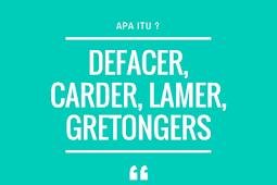 Inilah Perbedaan Hacker, Defacer, Carder, Cracker dan Lamer