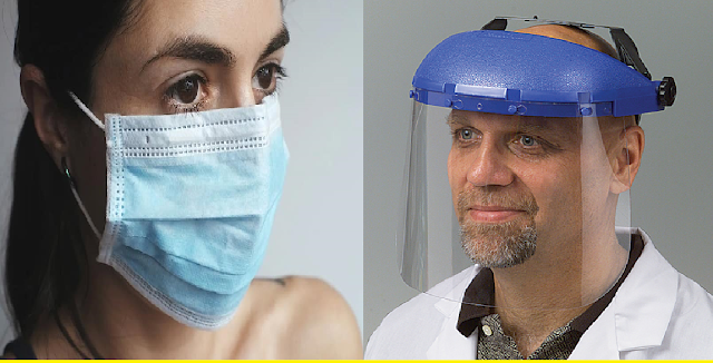 Face Mask vs Face Shield: Which is the best to avoid corona infection?